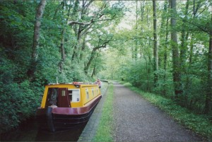 Our boat on Llangollen canal